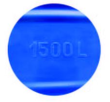 Bồn nhựa 300l đứngcó dung tích chuẩn nổi trên thân bồn